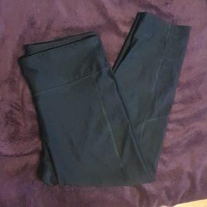 Brand new black capri leggings